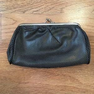 Handbags - Polka-Dot Kiss Lock Coin Purse